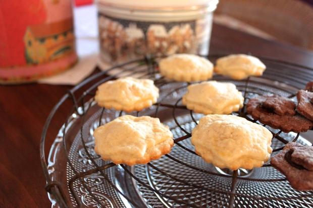 Die Kekse schmecken frisch und weihnachtlich zugleich...